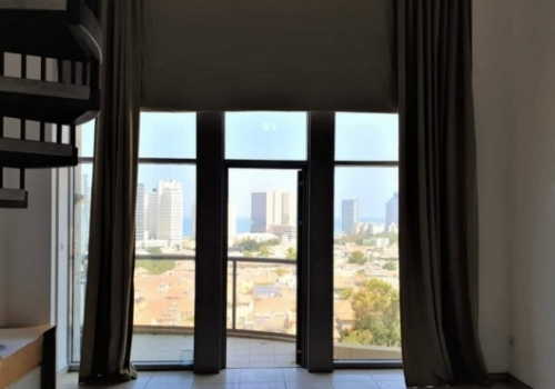 Neve Tsedek TWR Loft Duplex Balcony Elevator Parking Doorman SPA Pool Apartment for rent in Telaviv