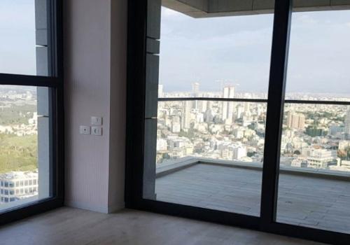 Park Tzameret 6 room 300m2 Terraces Fitness club Pool For Rent