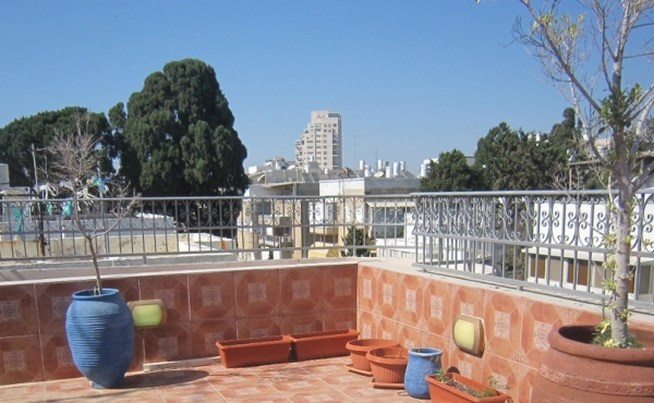 Frishman area Penthouse 3 rooms 100m2 Terrace 60m2 For sale