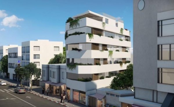 Sheinkin area 2 room 52 sqm Balconies Lift Apartment for buy in Tel Aviv