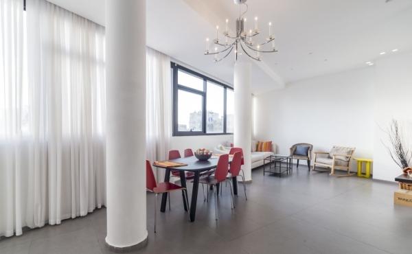 Hayarkon 3 rooms 100m2 Lift For Rent