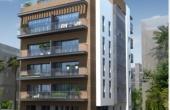 Frishman area 80sqm Terrace 8sqm Elevator Apartment for sale in Tel Aviv