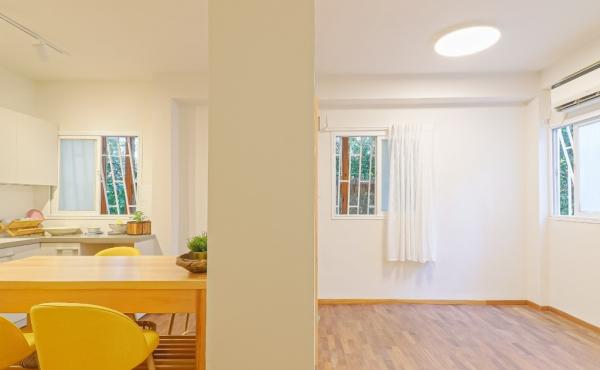 Dizengoff area 4 room 76 sqm Renovated Apartment for sale in Tel Aviv