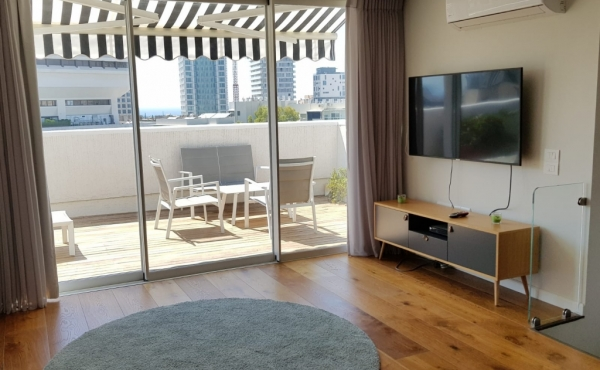 Ben Yehuda area Duplex 3.5 room 90sqm Renovated Balcony 27sqm Lift Parking Apartment to buy in Tel Aviv