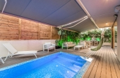 Bograshov area 4 room 120sqm Garden 160sqm Private pool Parking Apartment for sale in Tel Aviv