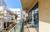 Frishman 3 room 70sqm Balcony 13sqm Lifts Parking Apartment for sale in Tel Aviv