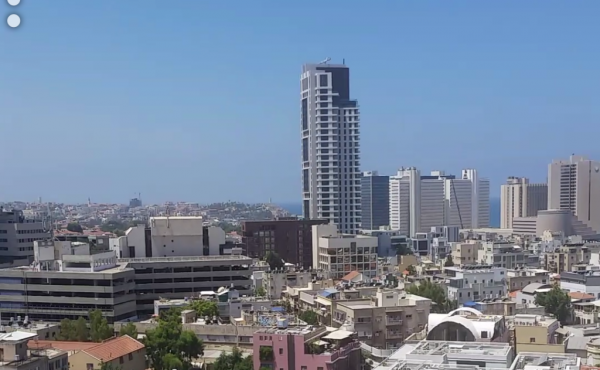 Rothschild area 4 room 123m2 Balcony Sea view Safe room Lift Parking Gym club Pool For Sale