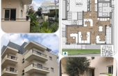 Pinsker Commercial unit 68sqm Balcony 15sqm High ceiling Apartment for sale in Tel Aviv