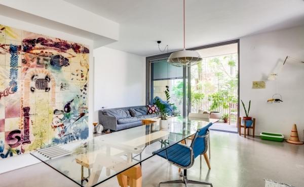 Rothschild area 3 room 78sqm Balcony 12sqm Elevator Parking Apartment for sale in Tel Aviv