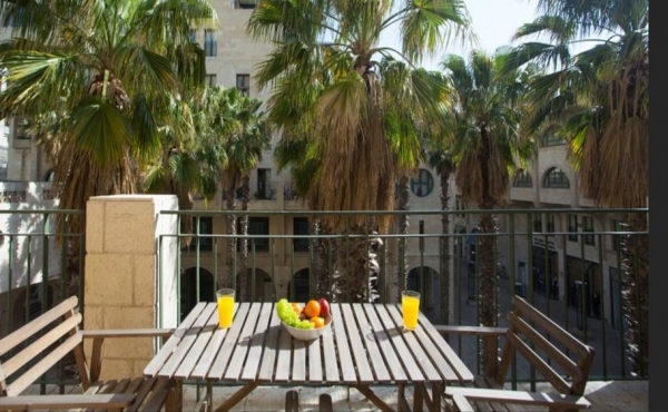 Hatserot Yaffo Résidence 3.5 rooms 70m2 Terrace Parking Apartment for vacation rental in Tel Aviv