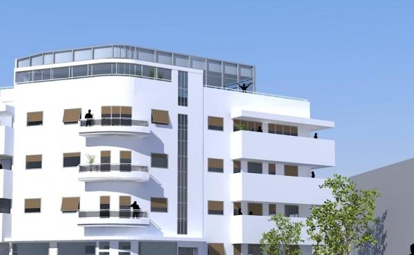 Hayarkon Park area Penthouse Duplex 214m2 Terrace Lift Parking For Sale