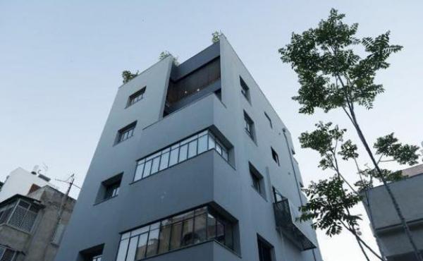 Bograshov area Roof duplex 120sqm Roof 70sqm Pool Elevator Parking Apartment for sale in Tel Aviv