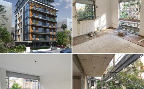 Kikar Hamedina area 5 room 142sqm Balcony Parking Apartment for sale in Tel Aviv
