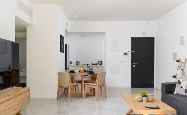 Neve Tsedek area 3 room 72sqm Balcony Lift Parking Apartment for sale in Tel Aviv
