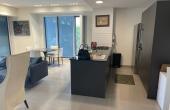Dizengoff area 3.5 room 136sqm Terrace 20sqm Elevator Parking Pool Gym Club Apartment for sale in Tel Aviv