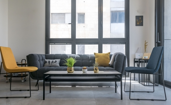 Royal Beach 4R 3 bedrooms 90sqm Terrace 14sqm Elevator Parking Apartment for Vacation rental in Telaviv