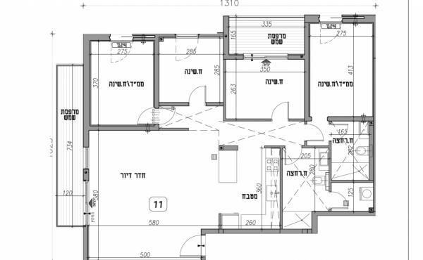 Yaffo 4 room 103sqm Balcony 14sqm Parking Apartment for sale in Tel Aviv