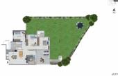 Dizengoff Netanya Garden apartment 4 room 101sqm Garden 190sqm Apartment for sale in Netanya