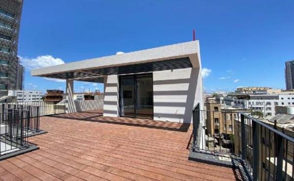 Neve Tsedek area Penthouse 2 bedrooms 138sqm Terrace 79sqm Apartment for sale in Tel Aviv