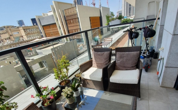 Fashion mall TLV 3 room 70sqm Terrace 12sqm Parking Apartment for sale in Tel Aviv