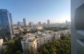 David Hameleh Tower 3 room 140sqm Balcony 11sqm Parking Pool Apartment for sale in Tel Aviv