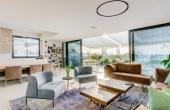 Pinkas area Duplex Penthouse 205sqm Terrace 52m2 Elevator Parking Apartment for sale in Tel Aviv