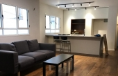 Hayarkon area Garden apartment 3 room 80sqm Renovated Apartment in Telaviv for sale