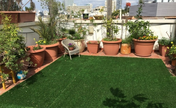 David Amelekh area Duplex 130sqm Garden 70sqm Elevator Parking Garden apartment for sale in Tel Aviv
