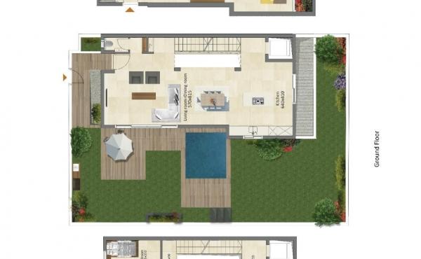 Sokolov Cottage 6.5 room 282sqm Parkings Field 231sqm To buy in Raanana